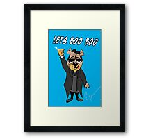 Lets Boo Boo 2 Framed Print