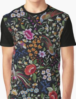 Spanish flamenco manton shawl motif Graphic T-Shirt