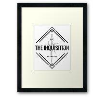 Dragon Age Inquisition Symbol Framed Print