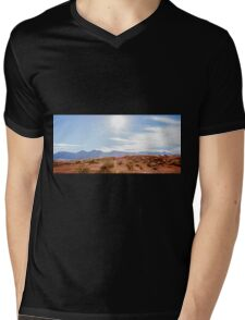 Panorama of Valley of Fire State Park, Nevada Mens V-Neck T-Shirt