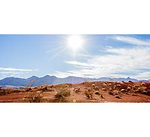 Panorama of Valley of Fire State Park, Nevada Photographic Print