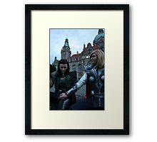 Loki come home Framed Print