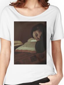 Studying Women's Relaxed Fit T-Shirt