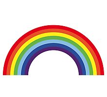 Rainbow / Arc-En-Ciel / Arcoíris / Regenbogen (7 Colors) Photographic Print