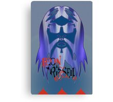 Leon Russell Rock & Roll Hall of Fame Commemorative Artwork by L. R. Emerson II Canvas Print
