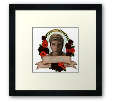 Kieren Walker (Bambi Eyes) Framed Print