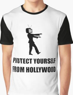 Protect Yourself From Hollywood Graphic T-Shirt
