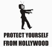 Protect Yourself From Hollywood Kids Tee