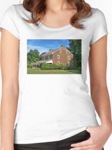 History & Mystery Women's Fitted Scoop T-Shirt