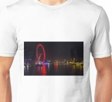River Thames View at Night Unisex T-Shirt