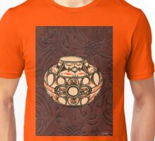 Native American Pot Indian Pottery Leather Unisex T-Shirt