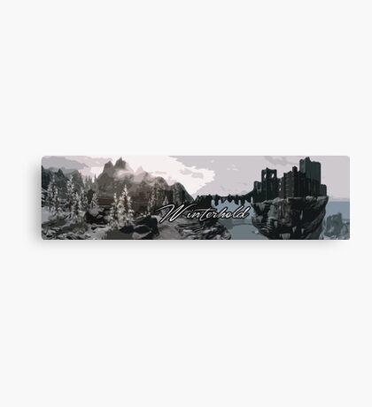 Winterhold Canvas Print