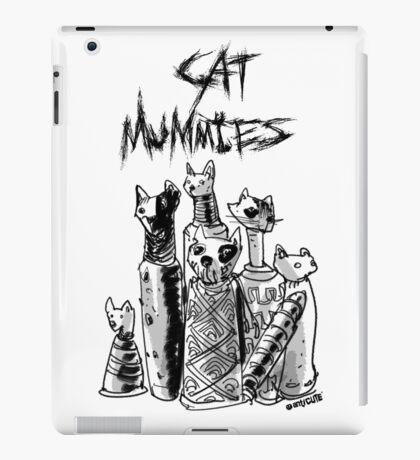 cat mummies iPad Case/Skin