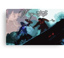 Wyrmstooth Canvas Print