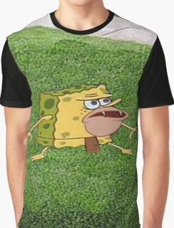 Caveman Spongebob Graphic T-Shirt