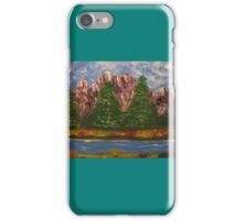 fishing spot iPhone Case/Skin