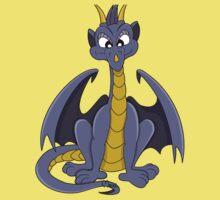 Cute purple dragon cartoon Baby Tee