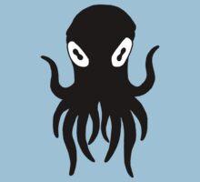 Black Octopus Kids Tee