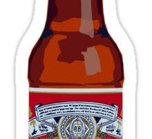 Pop Art Budweiser Bottle Sticker