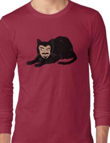 Vlad the Cat (Green) Long Sleeve T-Shirt