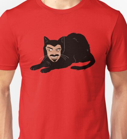 Vlad the Cat (Green) Unisex T-Shirt
