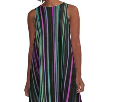 Abstract 130716(04) A-Line Dress