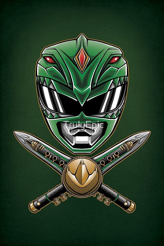 Dragonzord Power - Print by TrulyEpic