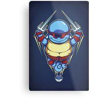 Ninja Squirtle - Print Metal Print
