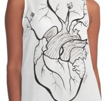 Rebirth (heart) Contrast Tank