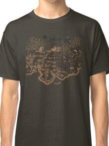 Johto Map Classic T-Shirt