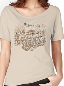Johto Map Women's Relaxed Fit T-Shirt