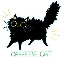 Caffeine Cat by koolaid-girl
