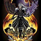 One Winged Angel - Print by TrulyEpic