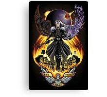 One Winged Angel - Print Canvas Print