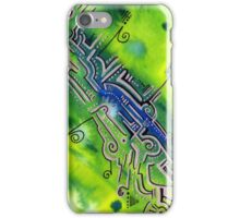 Deep Sea Blues  iPhone Case/Skin