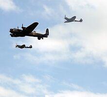 Battle of Britain Memorial Flight by TesniJade