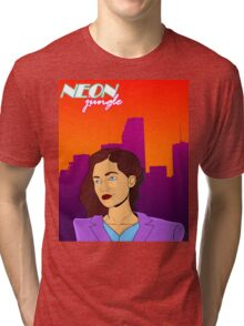 Neon Jungle Tri-blend T-Shirt