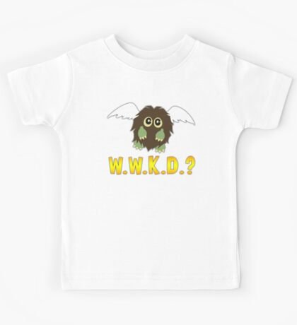What Would Kuriboh Do? (W.W.K.D.?) Kids Tee