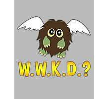 What Would Kuriboh Do? (W.W.K.D.?) Photographic Print