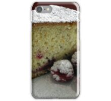Scrumptious Raspberry Cake iPhone Case/Skin