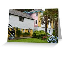 Portmeirion, Wales (3) Greeting Card