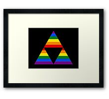 Rainbow force Framed Print