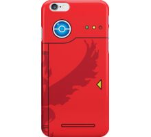 Team Valor Themed Pokedex Phone Case iPhone Case/Skin