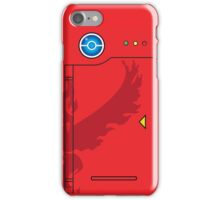 Team Valor Themed Pokedex Phone Case iPhone Case/Skin