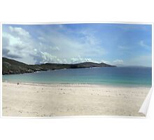 Beach at Huisinish Poster