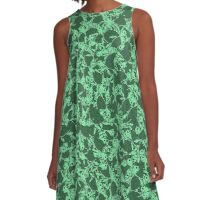 Mini turtles A-Line Dress