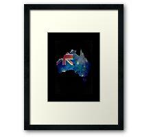 Australia Water Color Framed Print