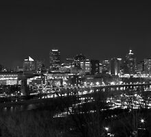 Saint Paul at night by KeithReierson