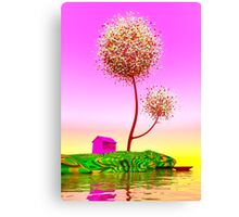 Colorful island. Canvas Print