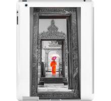 Wat Pho, the Temple of the Reclining Buddha in Bangkok, Thailand iPad Case/Skin